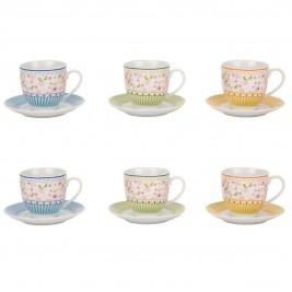 Φλυτζάνι Καφέ + Πιατάκι Marva Stripes 781006
