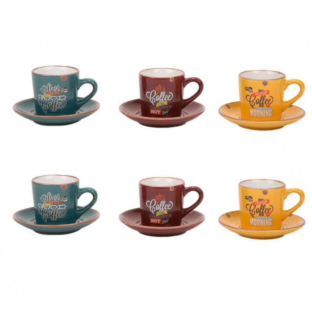 Φλυτζάνι Καφέ + Πιατάκι Marva Vintage 797001