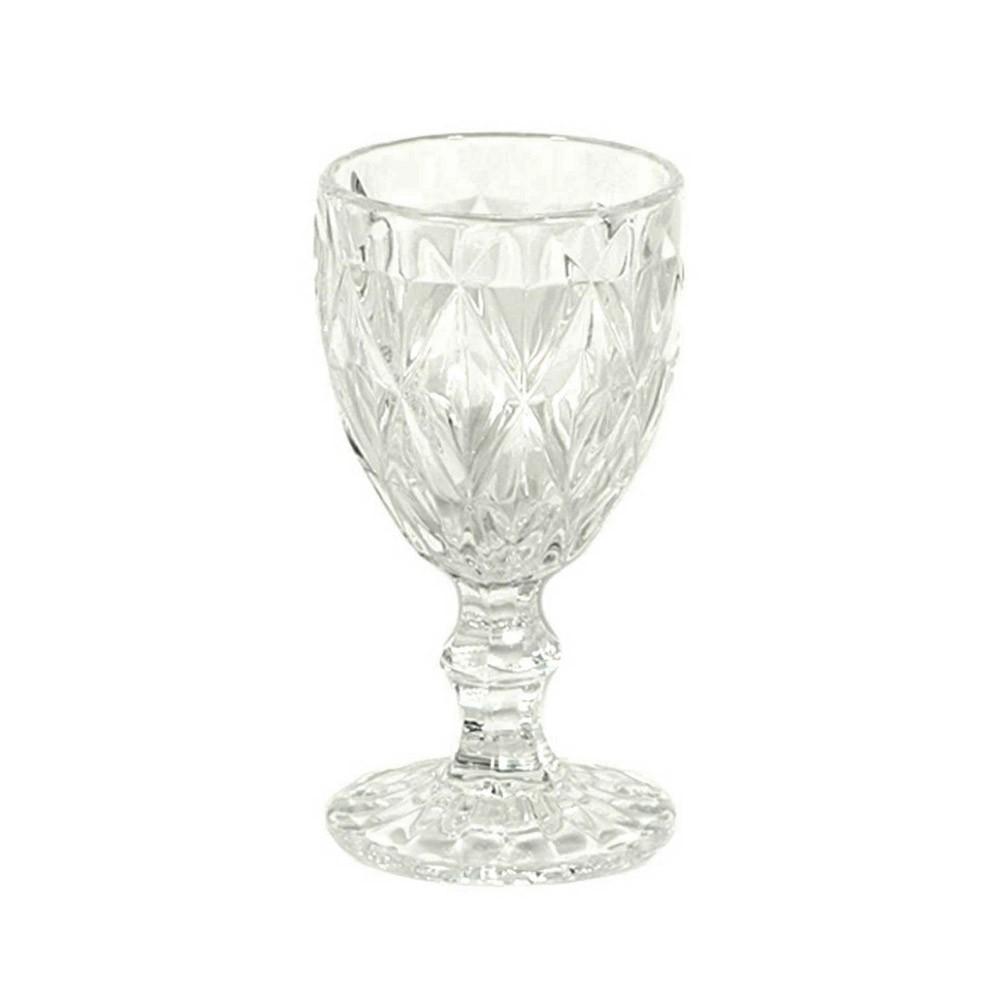 Ποτήρι Κρασιού Κολωνάτο Τμχ/6 Marva Romvos Clear 765028