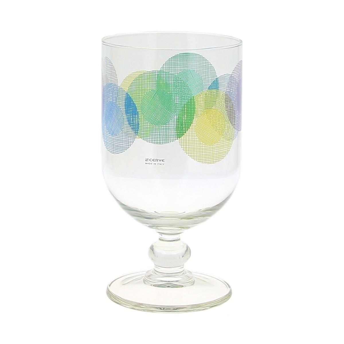 Ποτήρι Νερού Κολωνάτο Τμχ/6 Marva Portofino Azzuro Μ55331
