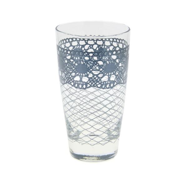 Ποτήρι Νερού Marva Macrame Azzurro Μ67930