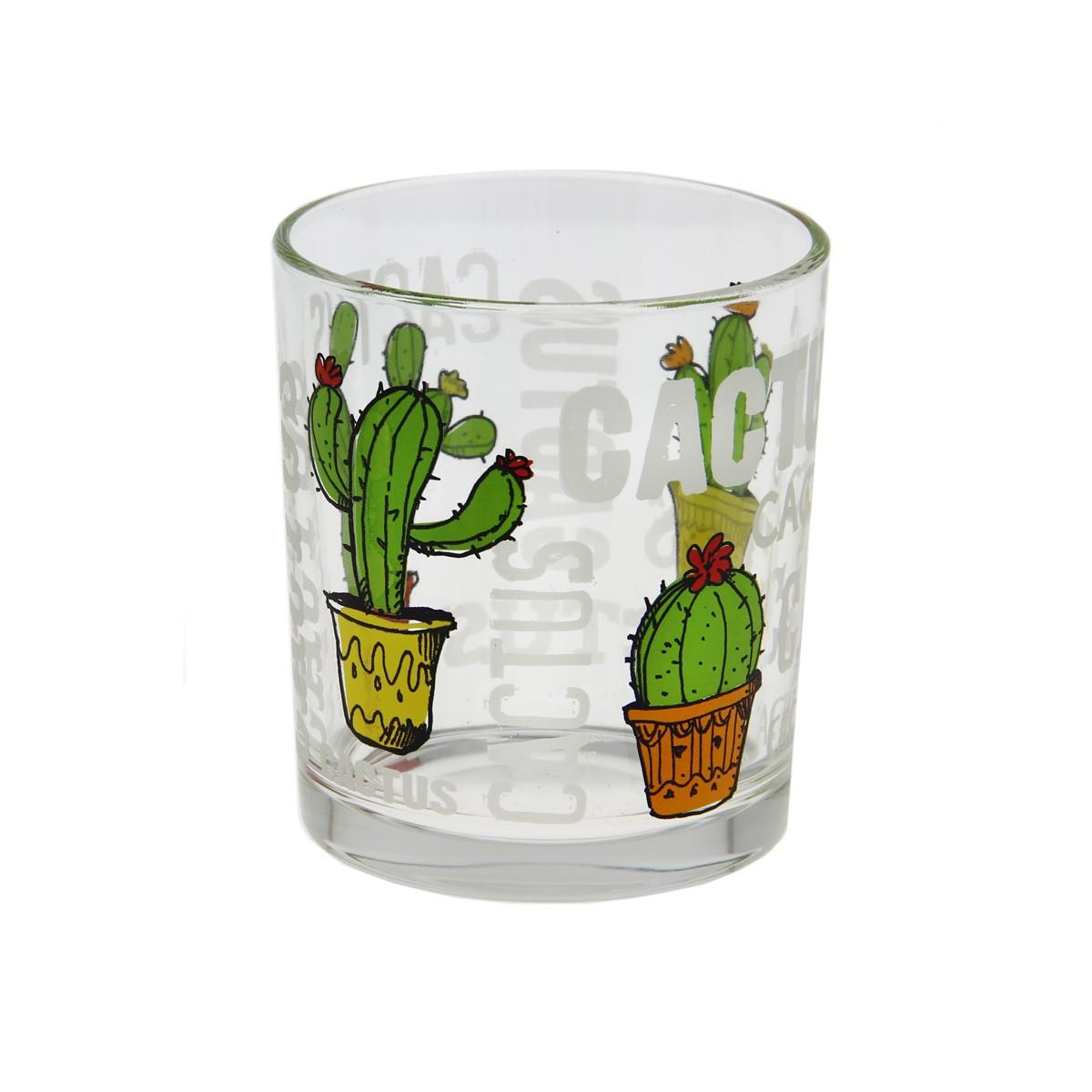 Ποτήρι Νερού Marva Cactus Μ66730