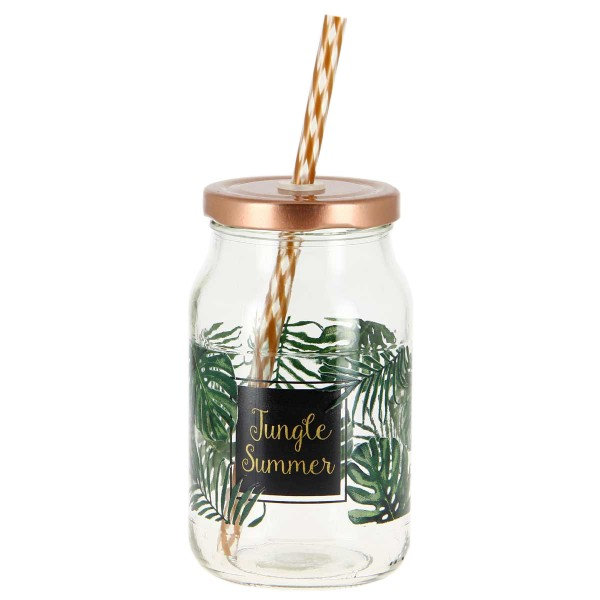 Ποτήρι Με Καλαμάκι Marva Jungle Μ71370
