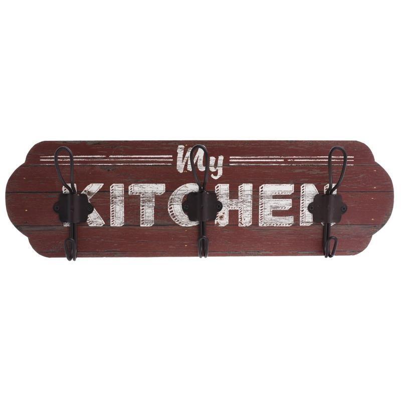 Κρεμάστρα Τοίχου 3 Θέσεων InArt Kitchen 3-70-773-0091