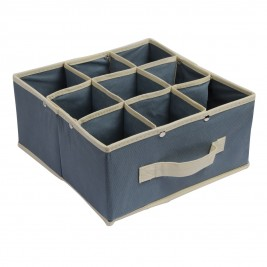 Κουτί Τακτοποίησης 9 Θέσεων εstia 03-4910 Grey