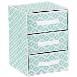 Συρταριέρα Τακτοποίησης 3 Θέσεων εstia 03-2091 Turquoise