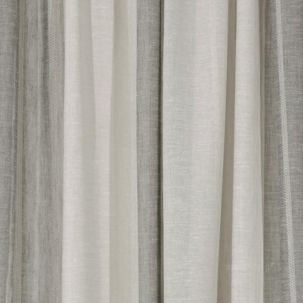 Κουρτίνα (140x270) Με Τρέσα Anna Riska Des 725 Linen-Beige