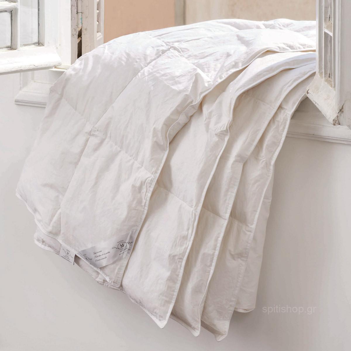 Πάπλωμα Πουπουλένιο Υπέρδιπλο Makis Tselios 80/20 home   κρεβατοκάμαρα   παπλώματα   παπλώματα πουπουλένια