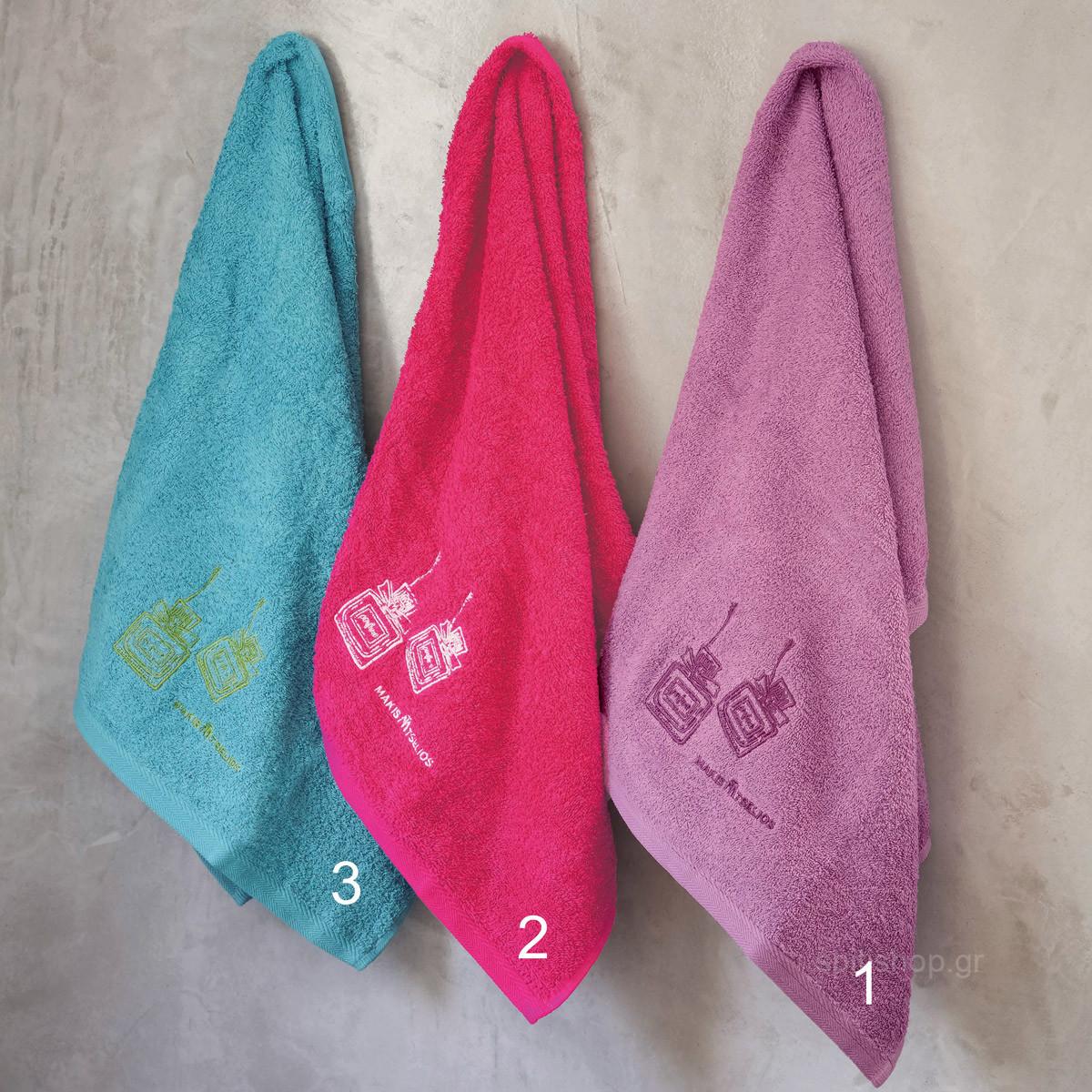 Πετσέτες Μπάνιου (Σετ 3τμχ) Makis Tselios Perfume home   μπάνιο   πετσέτες μπάνιου