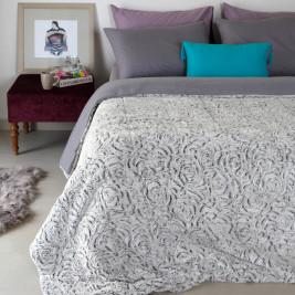 Κουβέρτα Fleece Υπέρδιπλη Melinen Rose