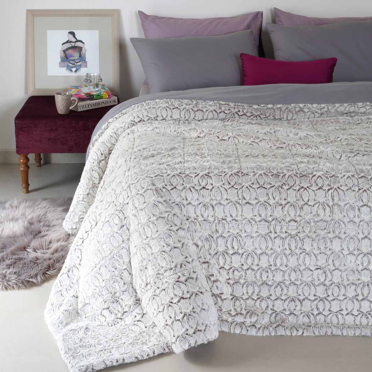 Κουβέρτα Fleece Υπέρδιπλη Melinen Chain home   κρεβατοκάμαρα   κουβέρτες   κουβέρτες fleece υπέρδιπλες
