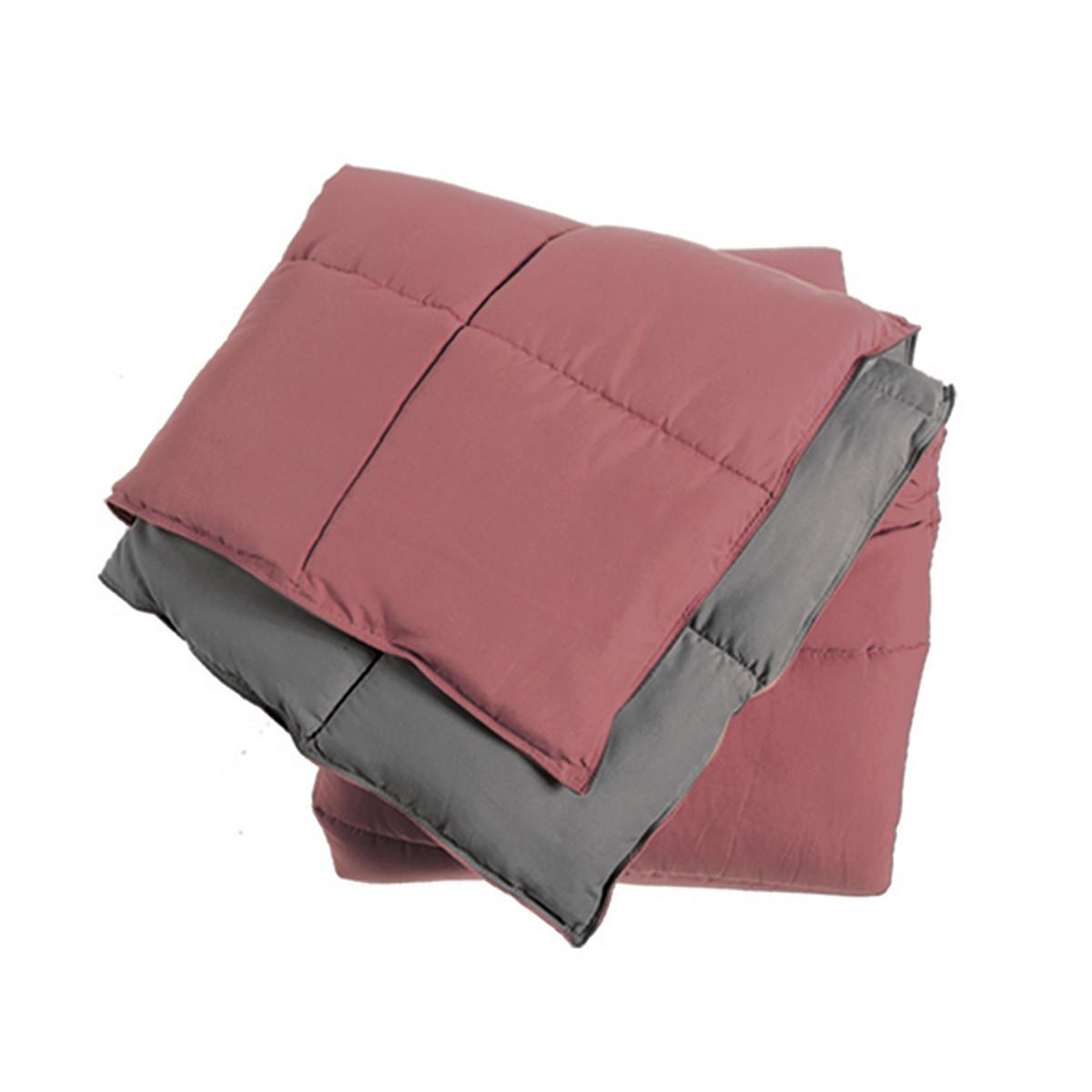 Πάπλωμα Υπέρδιπλο 2 Όψεων Nef-Nef Bicolor Rose English/Grey
