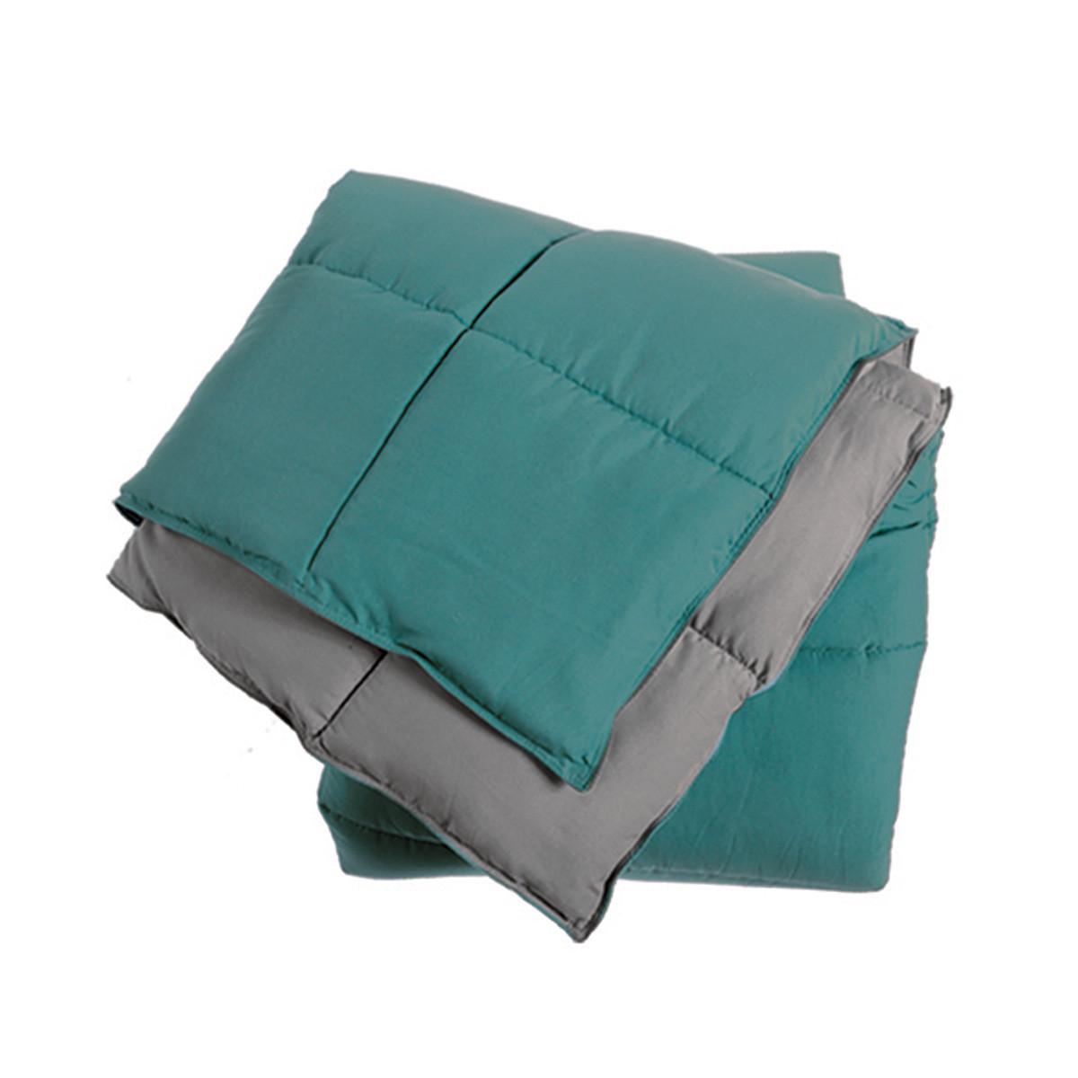 Πάπλωμα Υπέρδιπλο 2 Όψεων Nef-Nef Bicolor Petrol/Grey