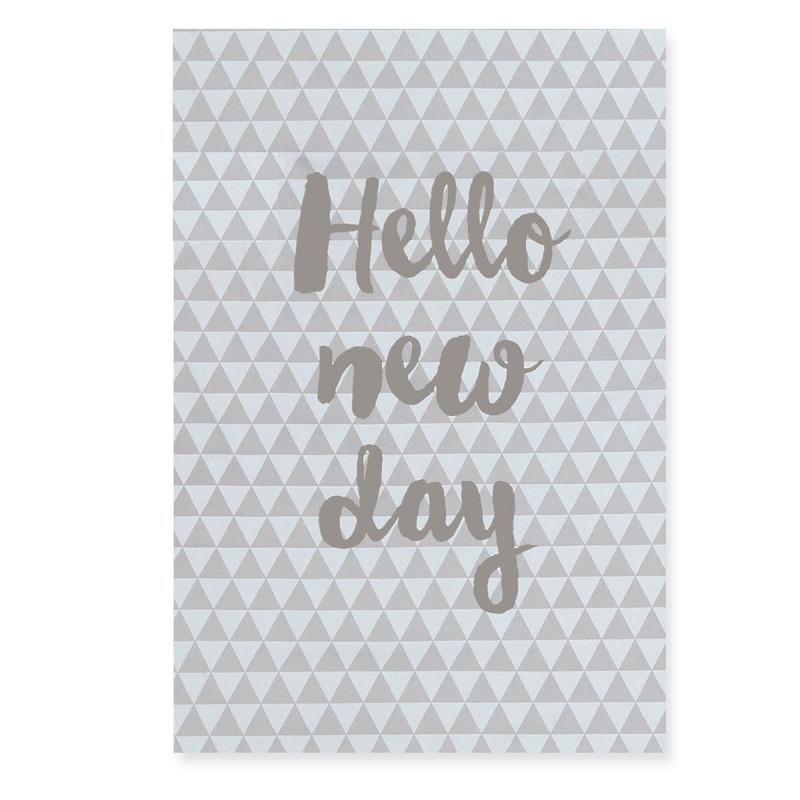 Ποτηρόπανο Τυπωτό Nef-Nef Mood Grey