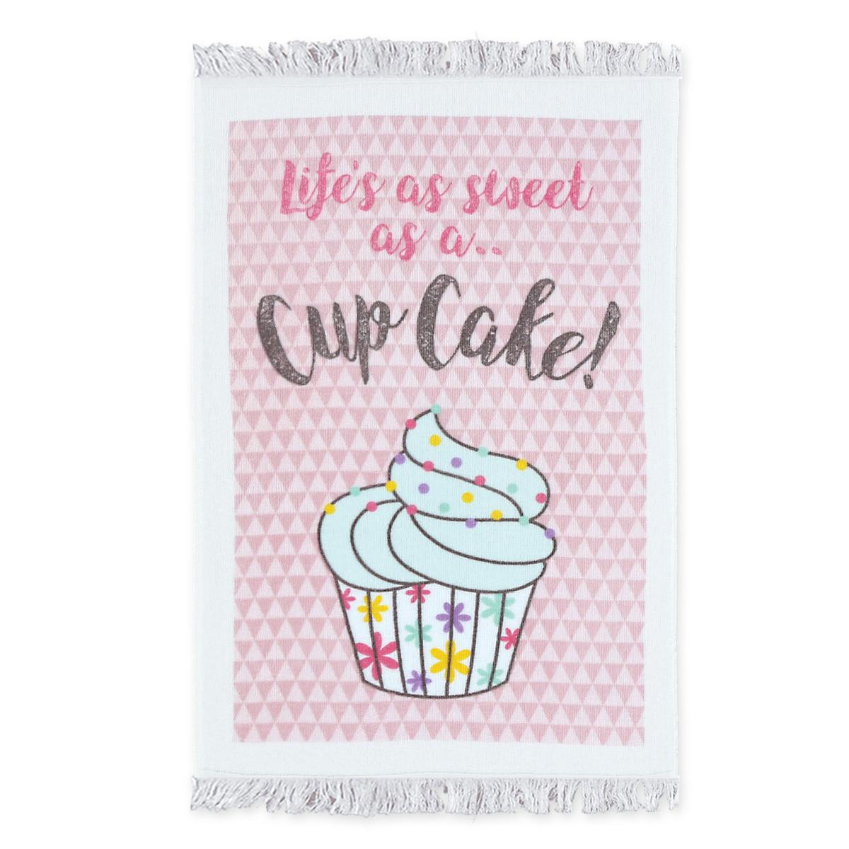 Πετσέτα Κουζίνας Nef-Nef CupCake Pink