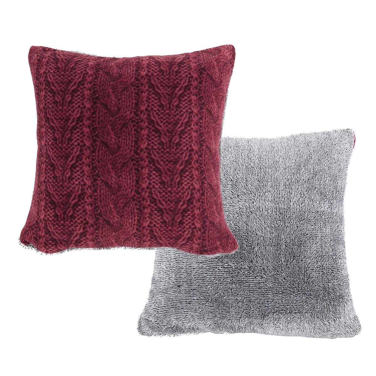 Διακοσμητικό Μαξιλάρι Nef-Nef Knitty Bordo