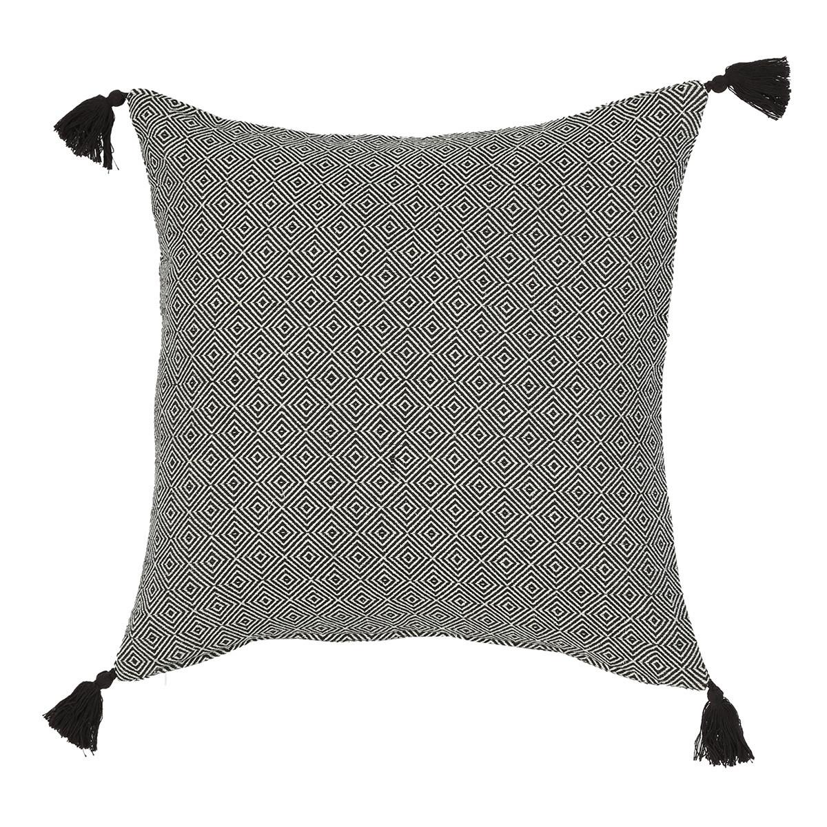 Μαξιλάρα Δαπέδου Nef-Nef Diamond Black home   σαλόνι   μαξιλάρες δαπέδου   πουφ