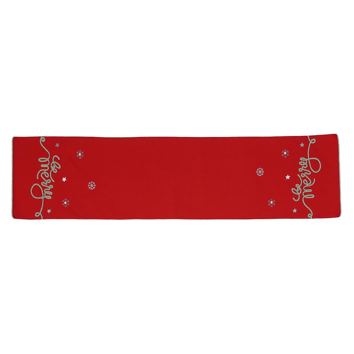 Χριστουγεννιάτικη Τραβέρσα Nef-Nef Be Merry home   χριστουγεννιάτικα   χριστουγεννιάτικες τραβέρσες