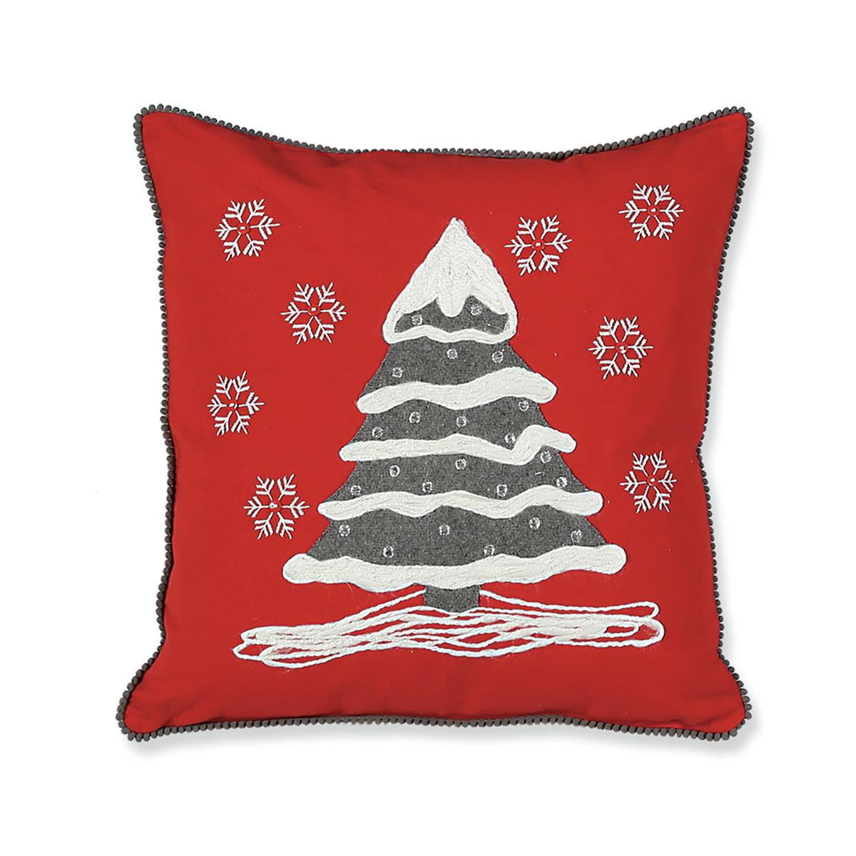 Χριστουγεννιάτικο Μαξιλάρι Nef-Nef Snow Tree