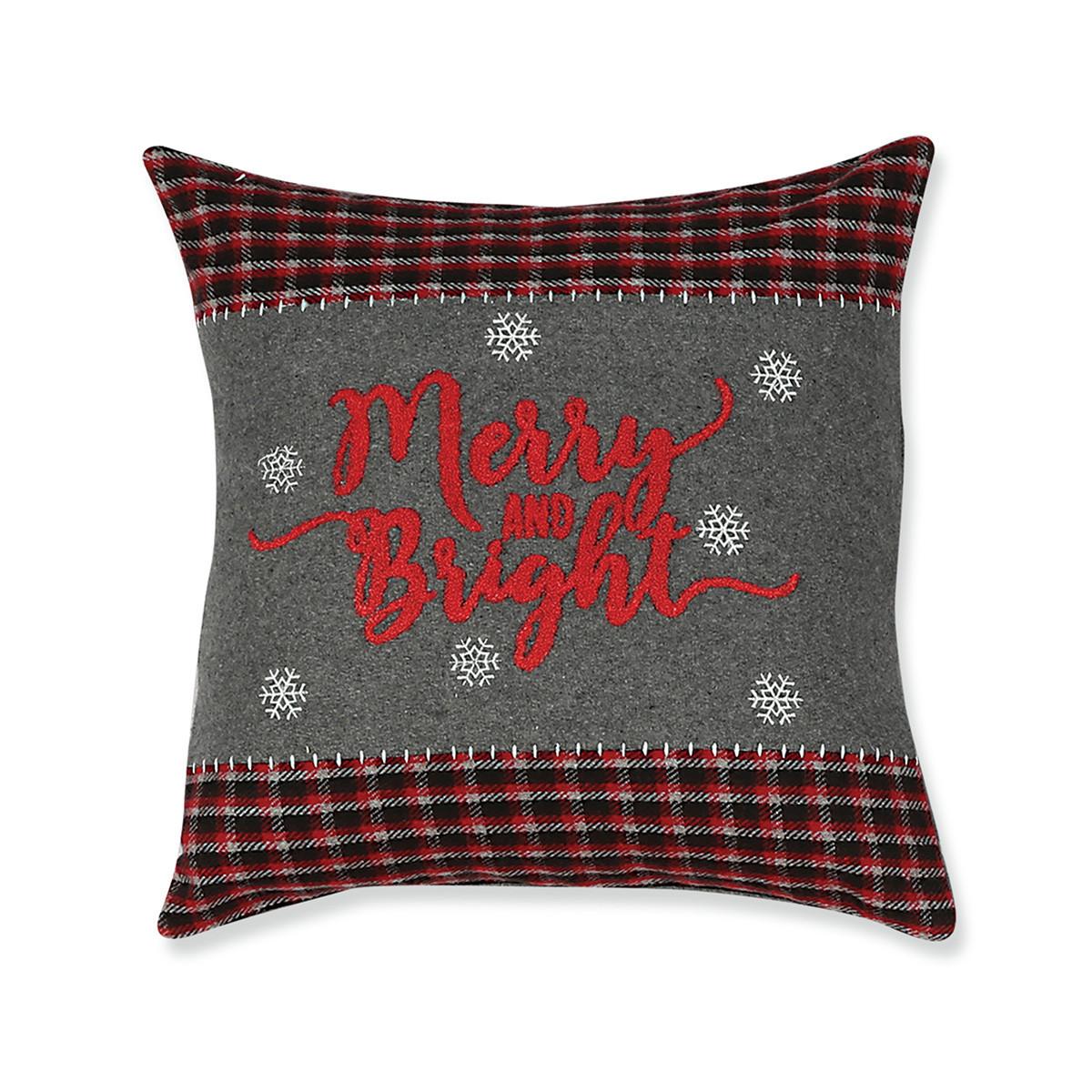 Χριστουγεννιάτικο Μαξιλάρι Nef-Nef Bright
