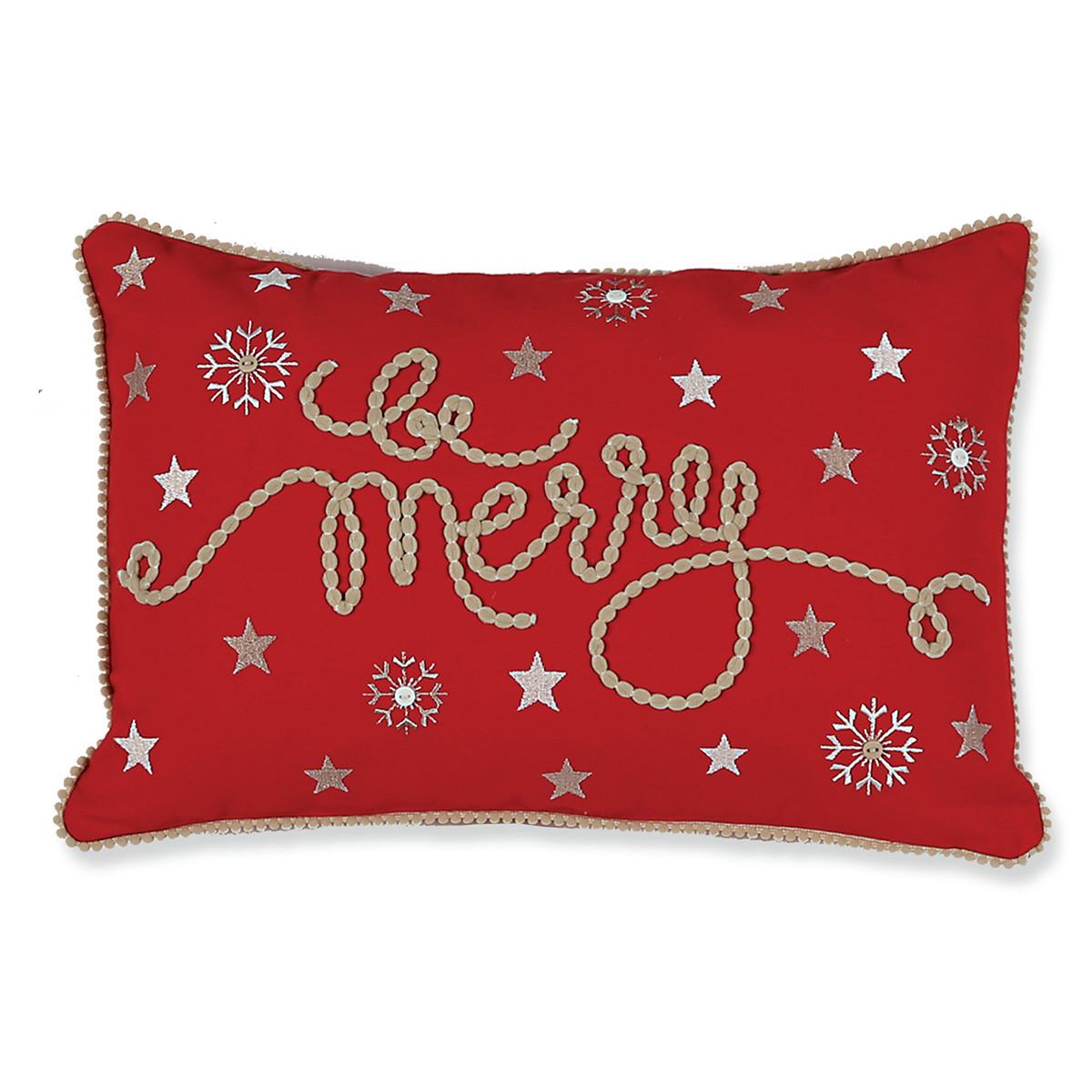 Χριστουγεννιάτικο Μαξιλάρι Nef-Nef Be Merry