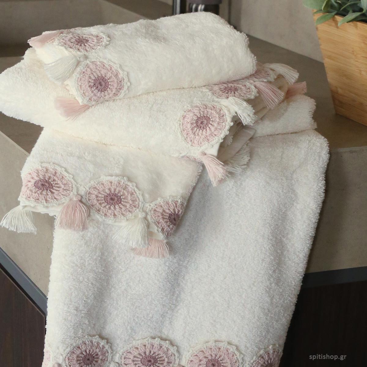 Πετσέτες Μπάνιου (Σετ 3τμχ) Nef-Nef Anthi