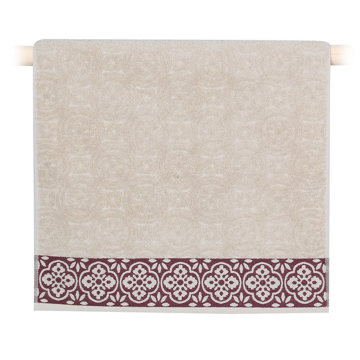 Πετσέτα Προσώπου (50x90) Nef-Nef Distinct Beige