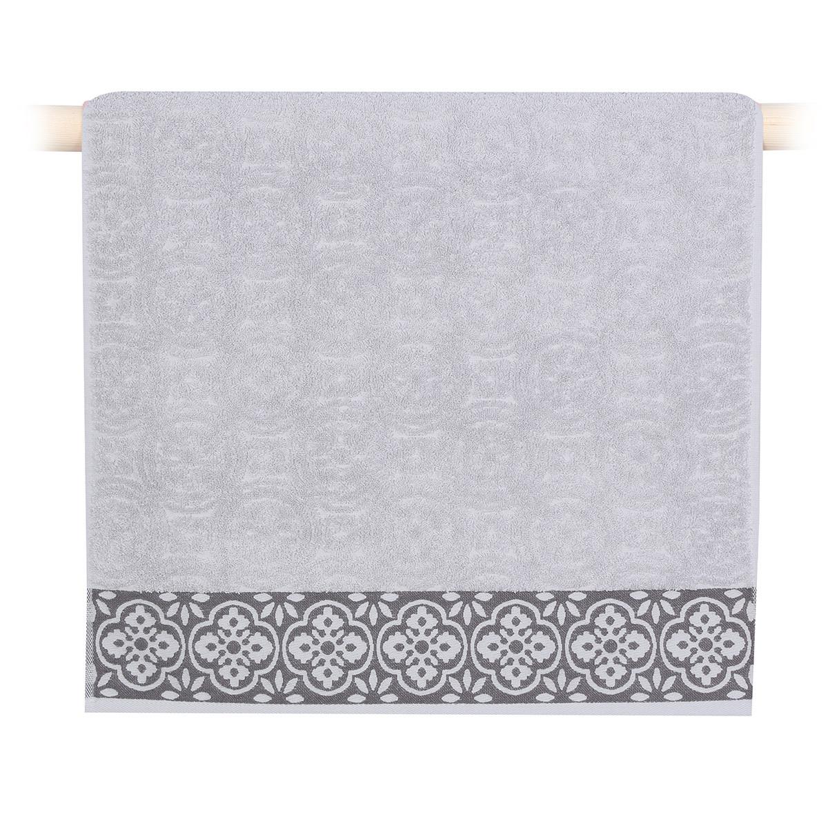 Πετσέτες Μπάνιου (Σετ 3τμχ) Nef-Nef Distinct Grey