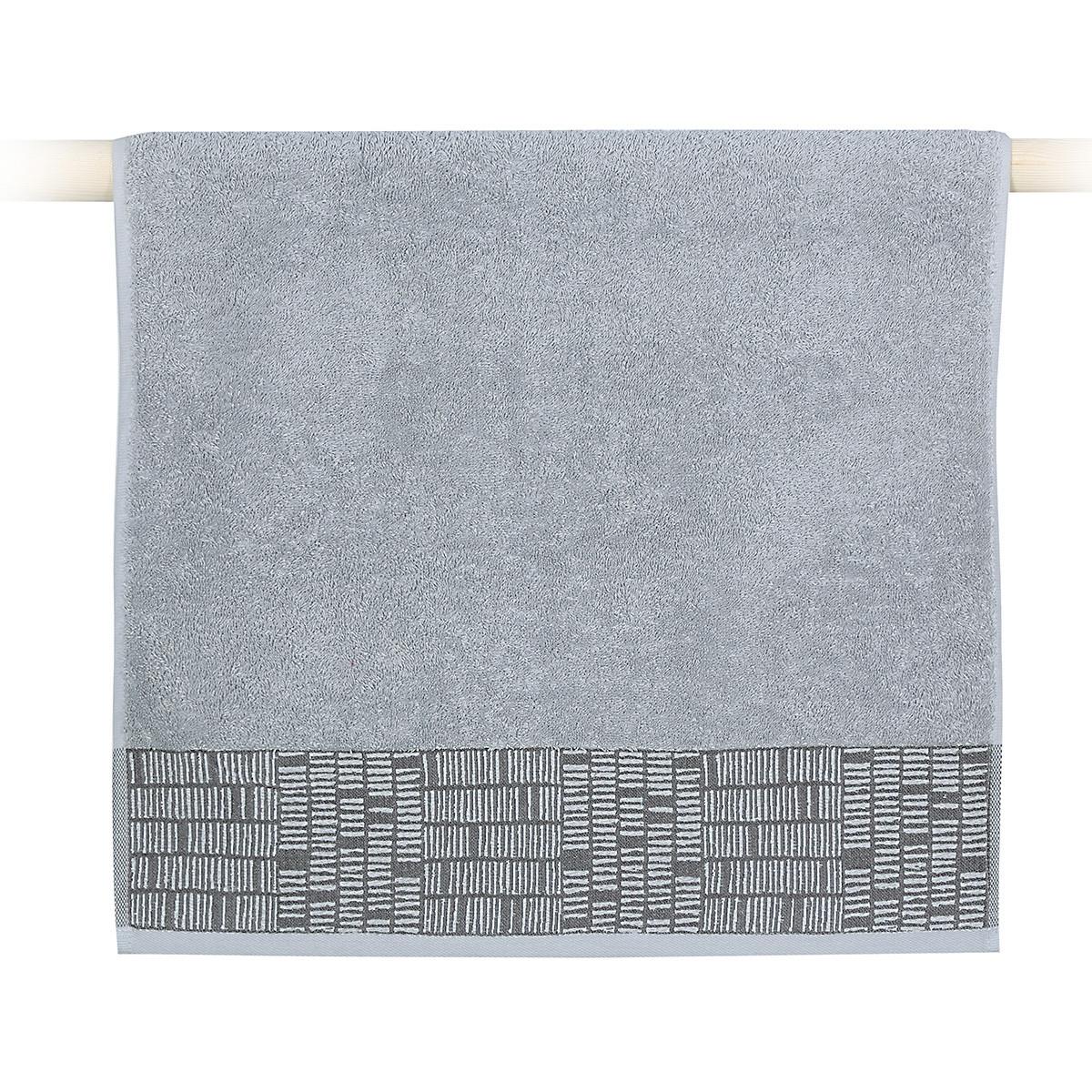 Πετσέτα Προσώπου (50x90) Nef-Nef Lak Grey home   μπάνιο   πετσέτες μπάνιου