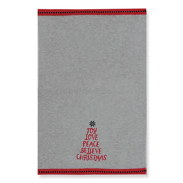 Χριστουγεννιάτικες Πετσέτες (Σετ 2τμχ) Nef-Nef Believe Christmas
