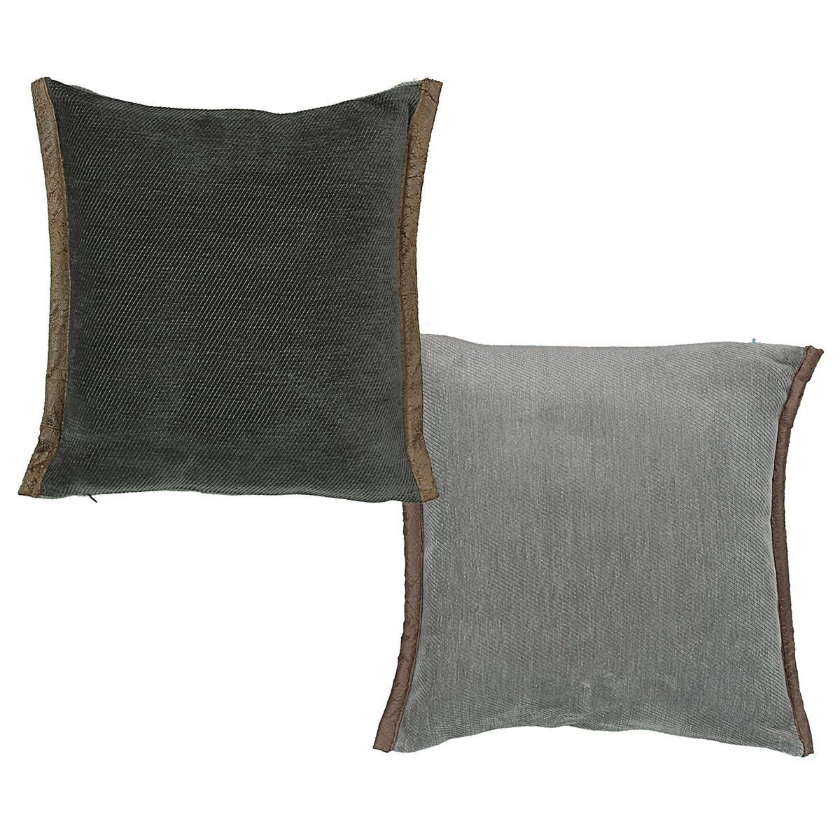Διακοσμητικό Μαξιλάρι (45×45) Nef-Nef Tanger Anthracite/Grey