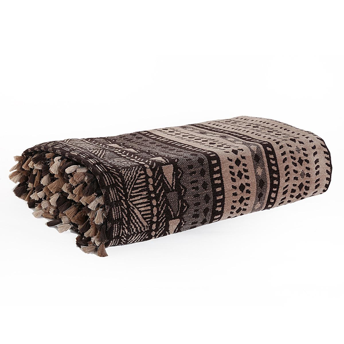 Διακοσμητικό Ριχτάρι (130x170) Nef-Nef Africa Beige/Brown