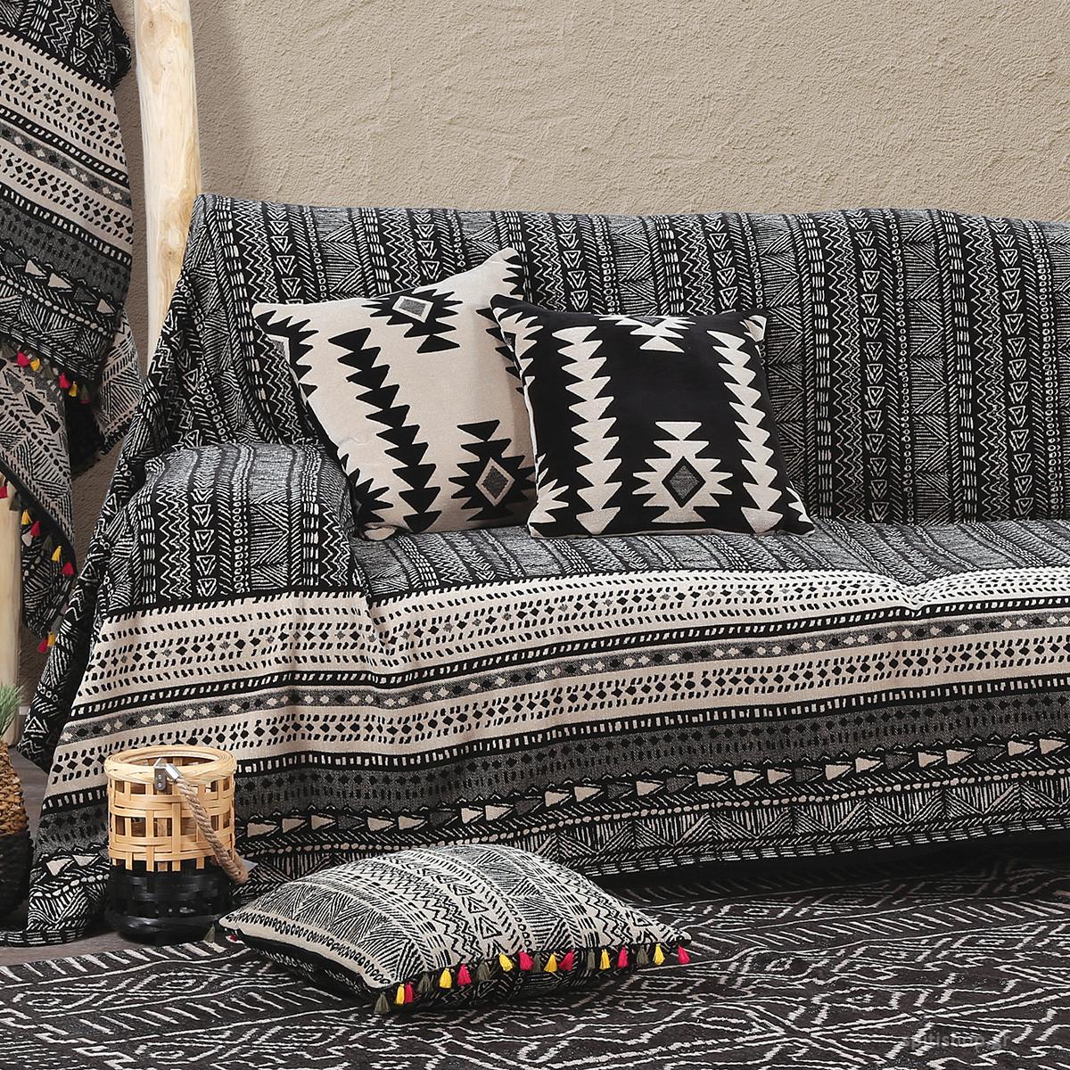 Ριχτάρι Διθέσιου (180×250) Nef-Nef Africa Black/Cream