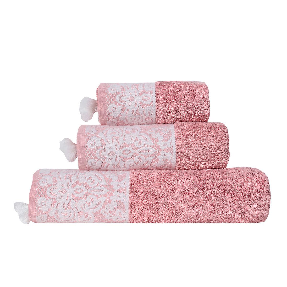 Πετσέτα Χεριών (30x50) Nef-Nef Nadia Peach