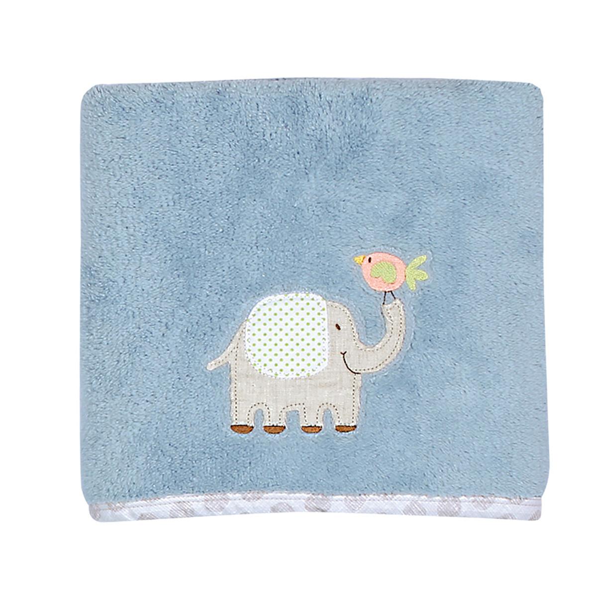 Κουβέρτα Fleece Αγκαλιάς Nef-Nef Baby Jungle Time