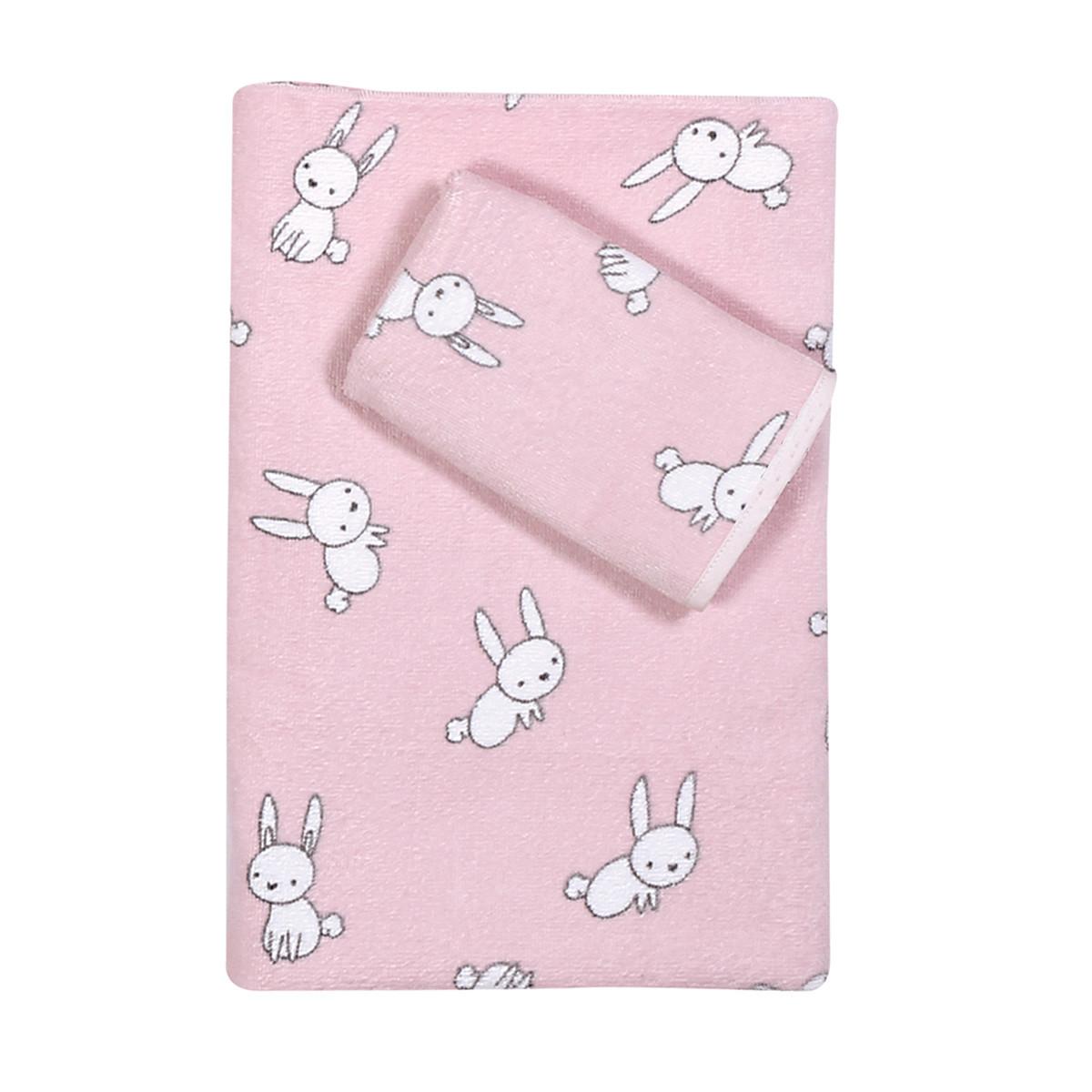 Βρεφικές Πετσέτες (Σετ 2τμχ) Nef-Nef Baby Bunny Life