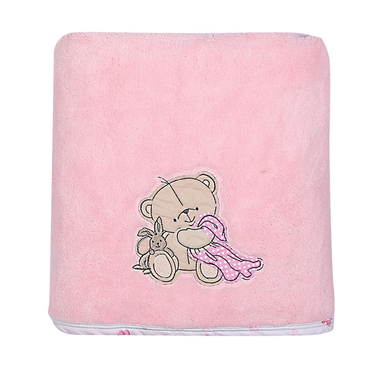 Κουβέρτα Fleece Κούνιας Nef-Nef Baby NapTime