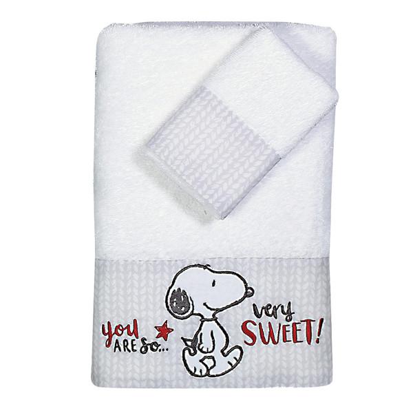 Βρεφικές Πετσέτες (Σετ 2τμχ) Nef-Nef Baby Sweet Snoopy