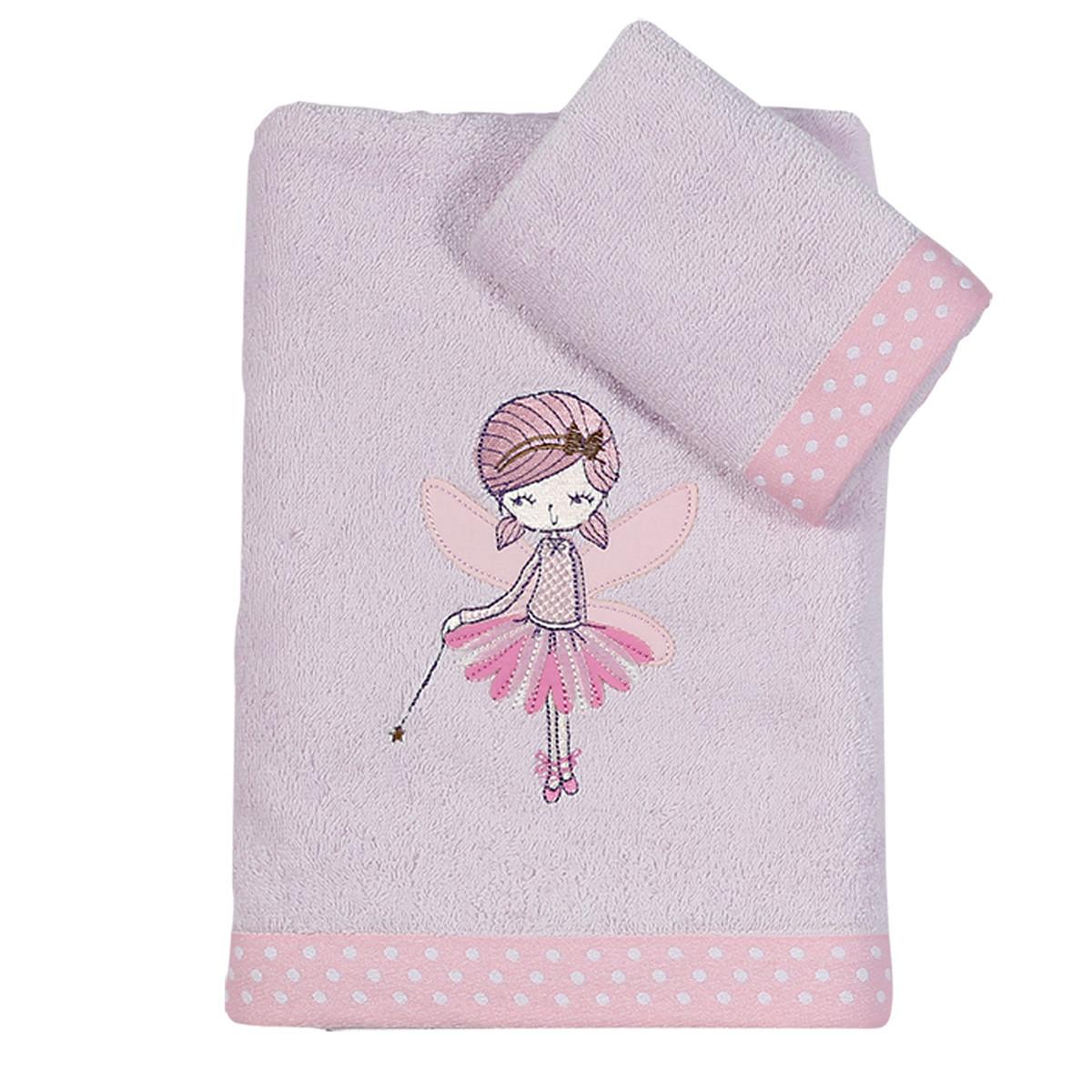 Παιδικές Πετσέτες (Σετ 2τμχ) Nef-Nef Junior Romantic Girl