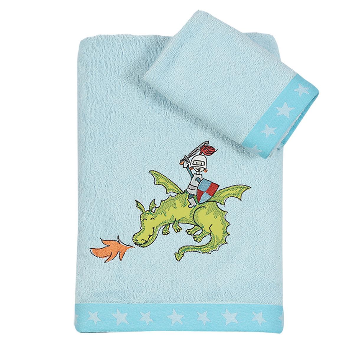 Παιδικές Πετσέτες (Σετ 2τμχ) Nef-Nef Junior Knights & Dragons