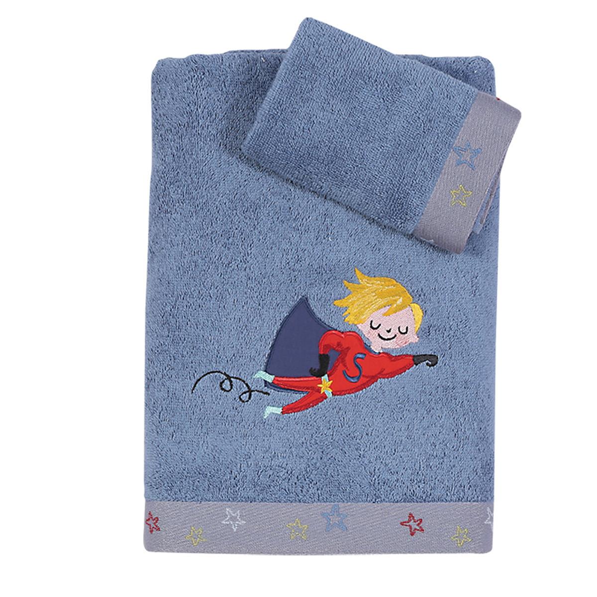 Παιδικές Πετσέτες (Σετ 2τμχ) Nef-Nef Junior My Heroes home   παιδικά   πετσέτες παιδικές