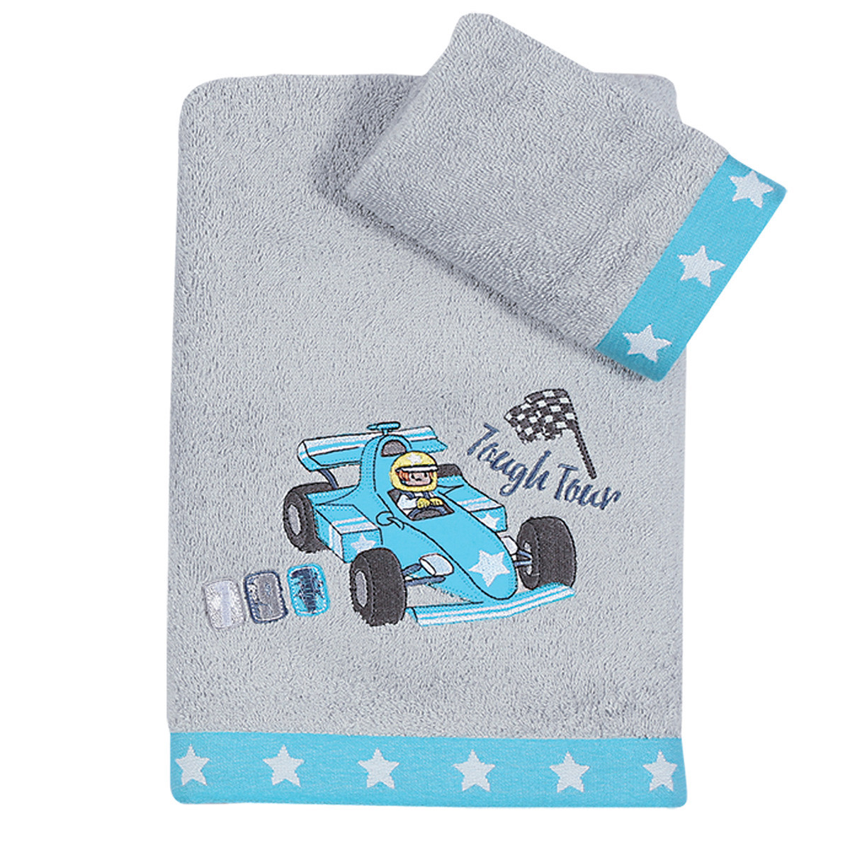 Παιδικές Πετσέτες (Σετ 2τμχ) Nef-Nef Junior Racing Cars home   παιδικά   πετσέτες παιδικές