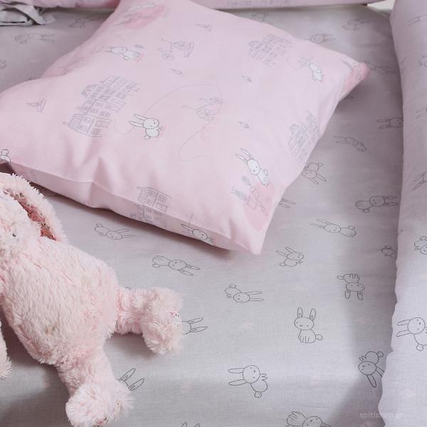 Πάπλωμα Κούνιας Nef-Nef Baby Bunny Life