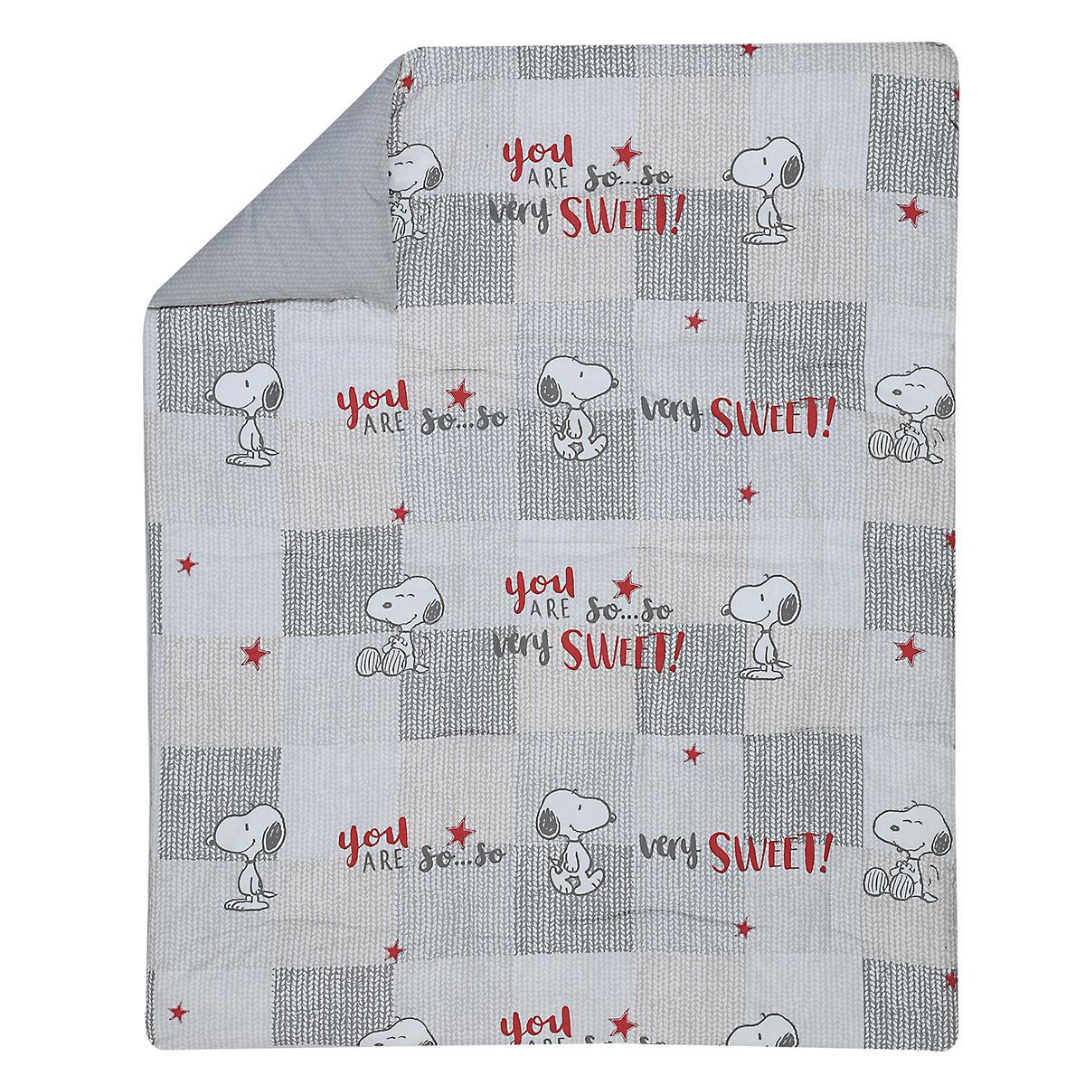 Πάπλωμα Κούνιας Nef-Nef Baby Sweet Snoopy