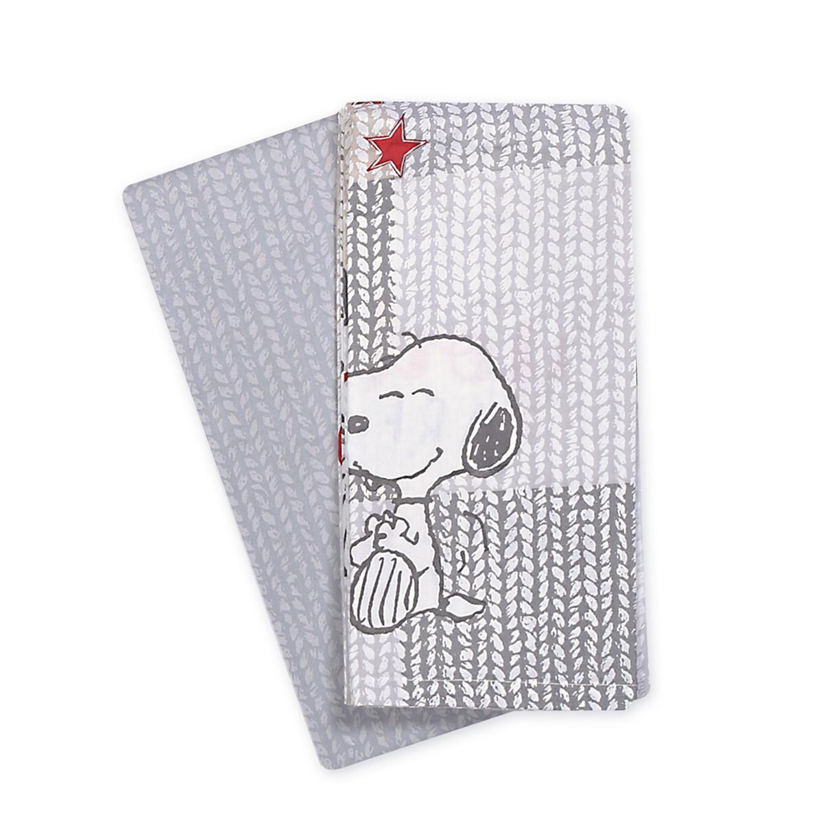 Σεντόνια Λίκνου (Σετ) Nef-Nef Baby Sweet Snoopy