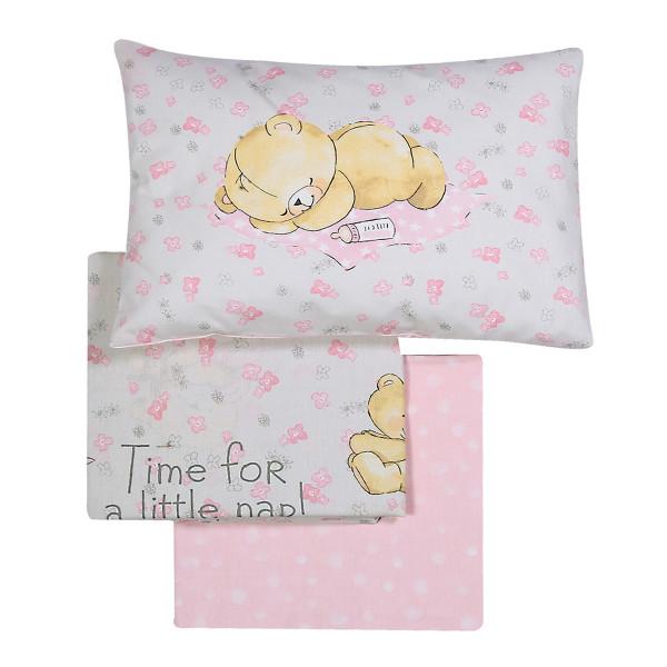 Σεντόνια Κούνιας (Σετ) Nef-Nef Baby NapTime