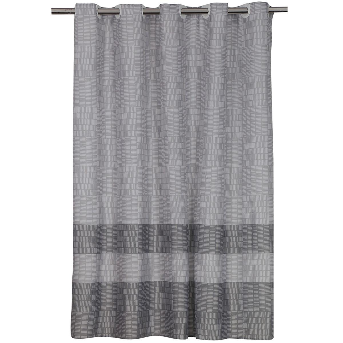Κουρτίνα Μπάνιου (180x200) Nef-Nef Lak Grey