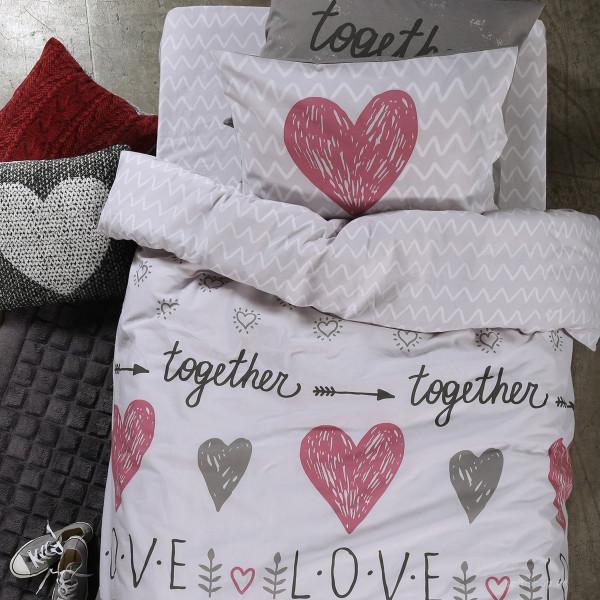 Σεντόνια Μονά (Σετ) Nef-Nef Junior Love Together