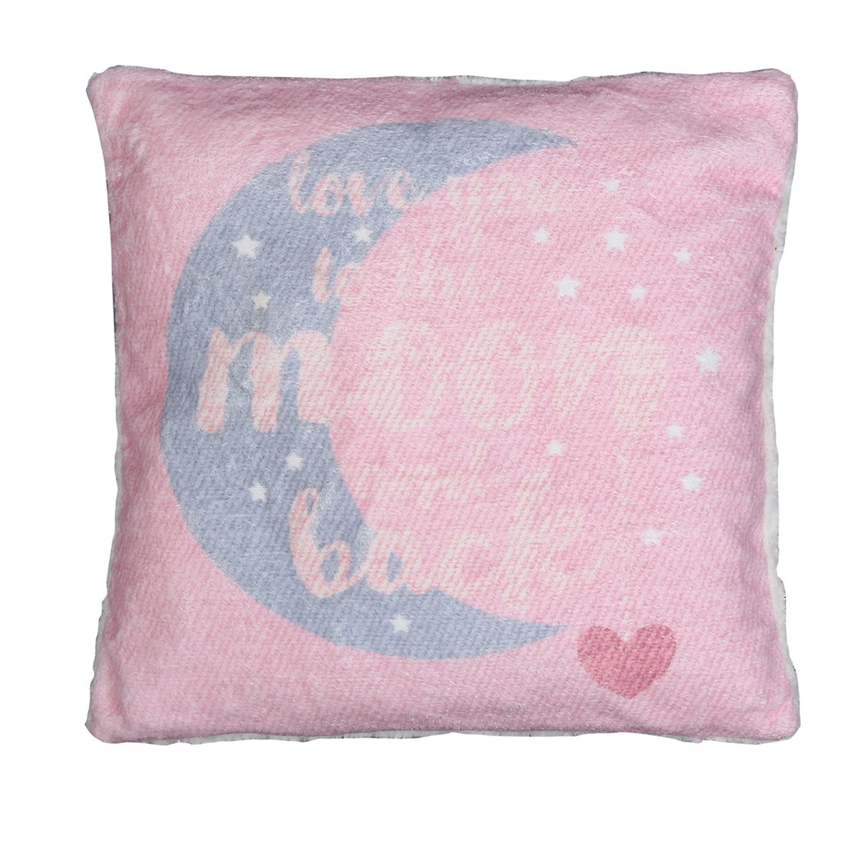 Διακοσμητικό Μαξιλάρι Nef-Nef Moon+Back Pink home   βρεφικά   διακοσμητικά μαξιλάρια