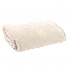 Κουβέρτα Βελουτέ Υπέρδιπλη Nef-Nef Loft Ecru